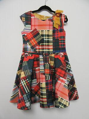 MI MI SOL printed dress girls sz 10Y