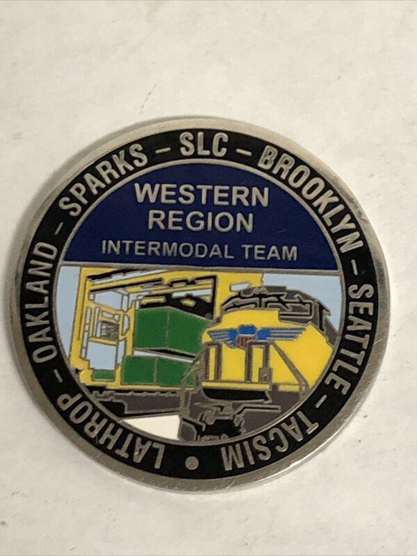 Union Pacific Western Region Intermodal Team Oakland,Sparks,SLC Token