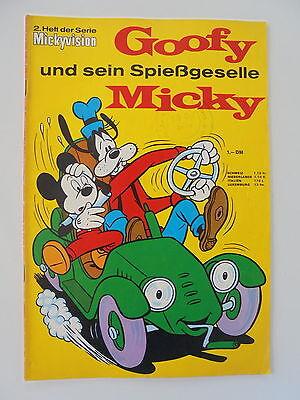 Mickyvision - Nr 2. Heft der Serie - Walt Disney, Comic / Z. 1-2