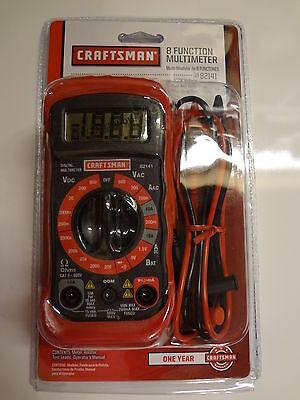 Multimeter 8 Function Craftsman 34-82141 New In Package