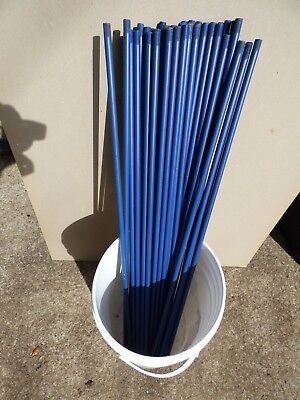 Pipe 12 Od X 36 18 Long X .065 Wall Metal Round Tube Painted Blue