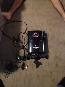 PS3 with all accessories,TB headset + games