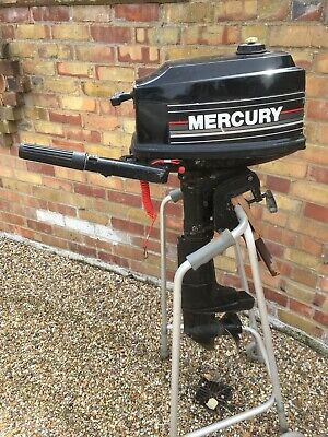 Mercury Mariner 4hp Outboard 2 Stroke Engine