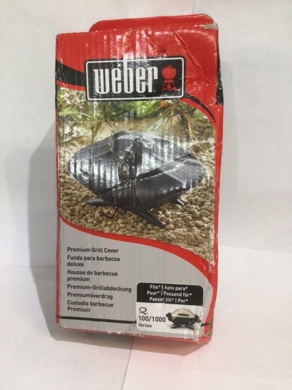 Weber+7117+Premium+Grill+Cover+For+100+1000+Series+Brand+new