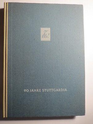 Tübingen - Akademische Gesellschaft Stuttgardia - 90 Jahre / Studentika