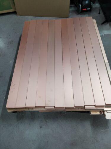 10 pcs  Double Sided Copper Clad Laminate PCB  FR-1, .060, 3 1/4 x 48, 1 oz.