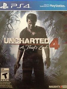 PS4 Uncharted 4 - $45