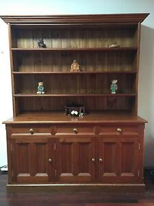 URGENT SALE - Recycled Oregon Timber Buffet & Hutch / Sideboard Mortdale Hurstville Area Preview