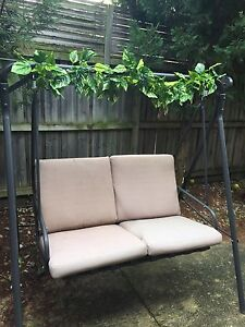Outdoor swing great for kitchen teas, bridal or baby showers Beaumont Hills The Hills District Preview