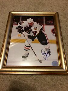 Signed doug gilmour picture