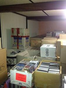 Bulk lot of CDs, DVD & Blu-rays. Over 50,000 titles, under 50c ea Perth Region Preview