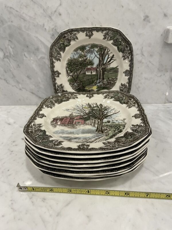 Johnson Brothers Friendly Village Salad Plates ASSORTED PATTERNS