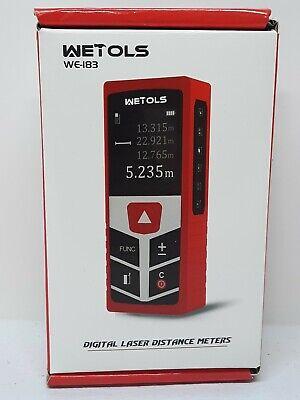 Wetols Digital Laser Distance Meters - Minft Laser Measure