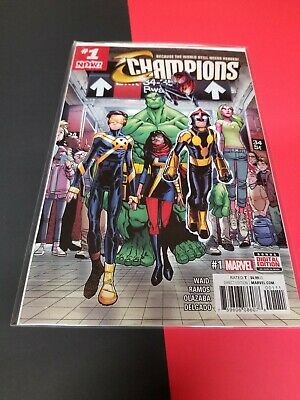 CHAMPIONS #1 SOLD OUT FIRST PRINT NM OR BETTER! BEST PRICE ON EBAY! BEST (Ebay Best Offer Sold Price)