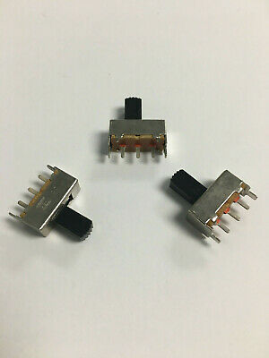 Spdt Pcb Mount Slide Switch Onon Bags Of 450