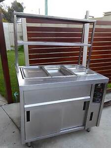 BAINE MARIE WITH WARMER 3 PANS  WITH LOWER FAN FORCED WARMER Redcliffe Redcliffe Area Preview