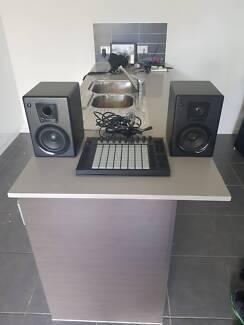 Ableton Push C/W Studio Monitors!!!