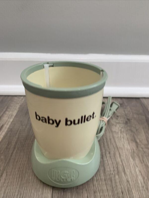 Magic Bullet Baby Bullet Food Blender Power Base Motor Only.Tested!