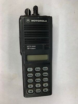 Motorola Mts 2000 Flashport Handie-talkie Fm Radio Bad Display