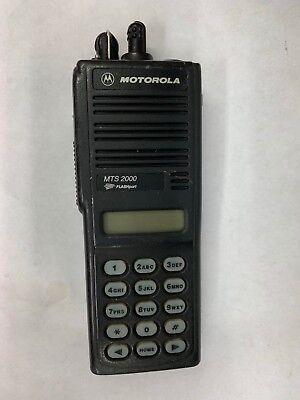 Motorola Mts 2000 Flashport Handie-talkie Fm Radio Bad Display