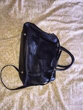 Jigsaw black soft leather women's handbag Pagewood Botany Bay Area Preview