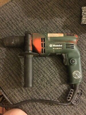 Metabo Sb E600 Combination Hammer Drill And Drill Rl