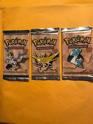 Pokemon 1st Edition Fossil Booster Pack- Factory Sealed!!..One (Edition Pack)