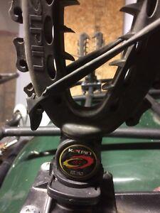 Gun holder for ATV