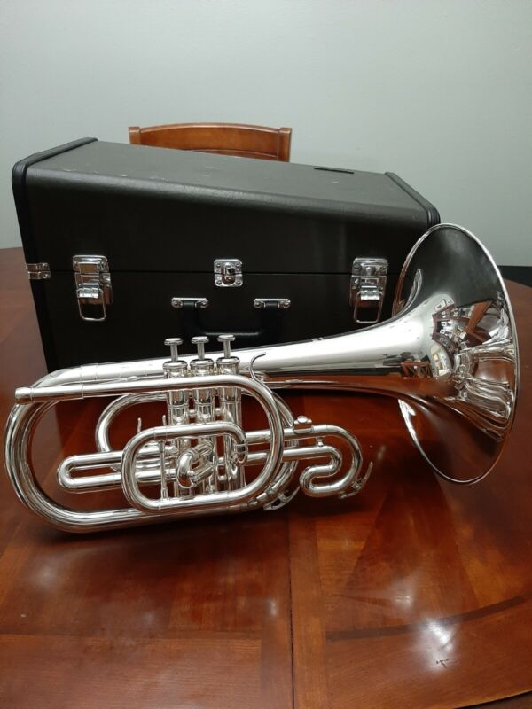Yamaha YMP-204M Mellophone Used for Drum Corps
