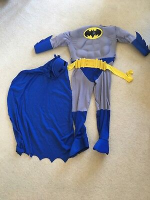 Rubies Batman Deluxe Muscle Costume Kids (Kid Batman Kostüme)