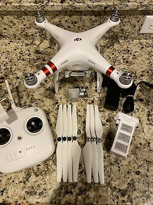 DJI Phantom 3 Standard Quadcopter Camera Drone AS IS READ DESCRIPTION