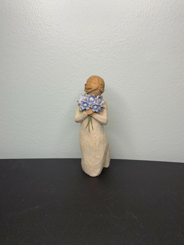 Willow Tree Forget Me Not Sculpted Hand Painted Figurine Demdaco Home Decor 2011