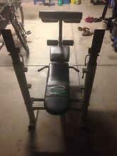 Solid orbit bench press with free 6ft bar Westminster Stirling Area Preview