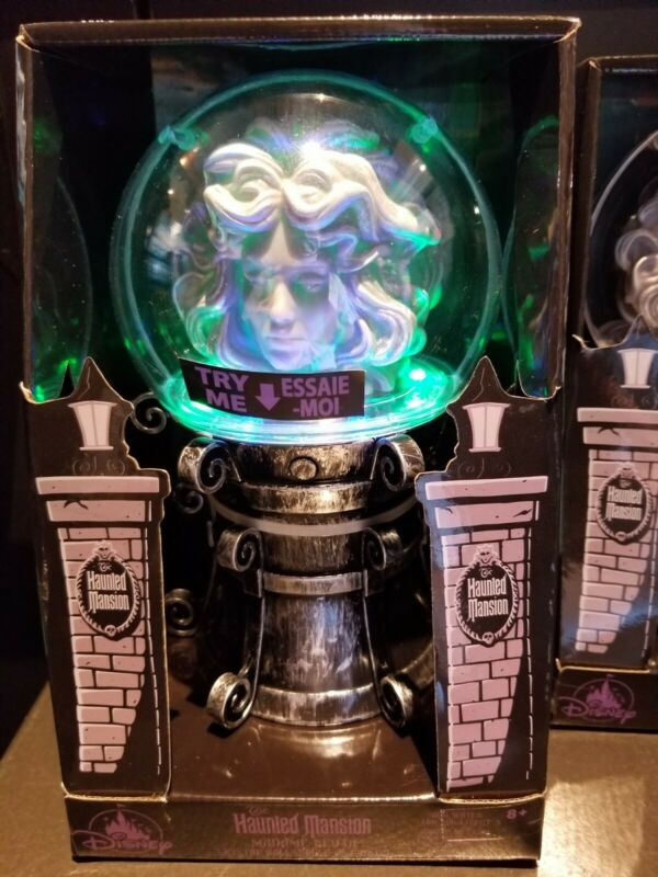 Disney Parks Madame Leota Crystal Ball Light-Up Figure The Haunted Mansion New