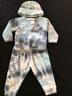 Baby Steps Tie Dye (Baby Steps Cotton Tie Dye Truck Top, Pants & Hat -)