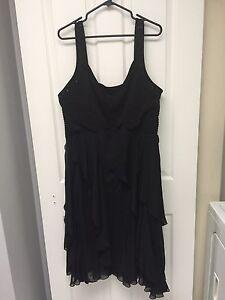 Women's Laura Plus Size 22 Black Dress