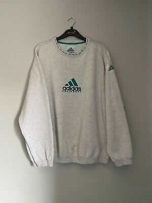 Adidas Equipment Sweatshirt in light grey size XL