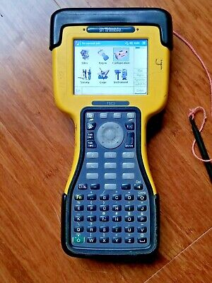 Trimble Tsc2 Glonass Gps Total Station Data Collector W Survey Controller 12.50