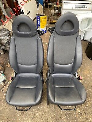 Smart Car Fortwo W450 Leather Seats N/S & O/S - Kit Car 2004