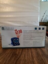 Oregon Scientific Projection Alarm Clock Self-Setting BRAND NEW  RM313PA TESTED