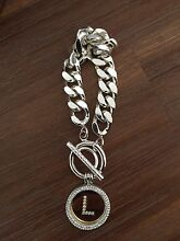 Nikki Lissoni Silver Bracelet with Coin Pendants Tapping Wanneroo Area Preview