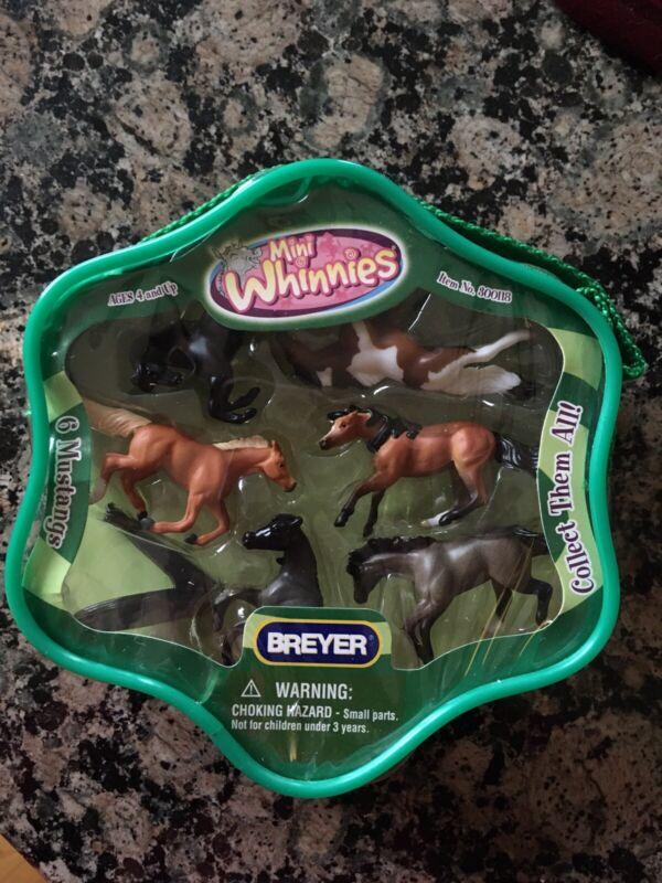 Breyer Mini Whinnies Horses. 6 Mustangs. New In Package