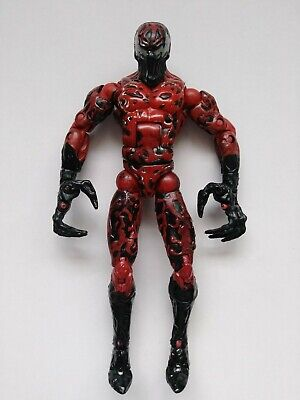 Marvel legends toybiz carnage spiderman action figure loose 6 inch