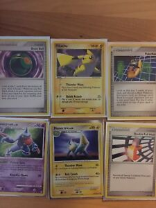 Variety of pokemon cards need gone