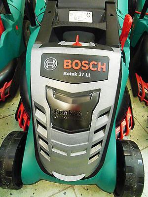 Akkurasenmäher Rasenmäher Bosch Rotak 37Li Li-ion 1x Akku Ladegerät Rasen Mäher