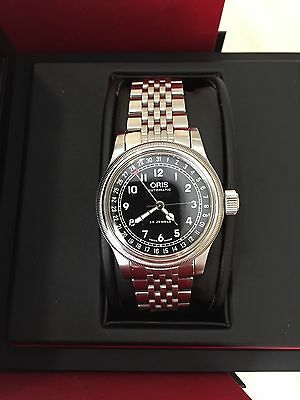 Oris automatic big crown pointer date (40mm) case