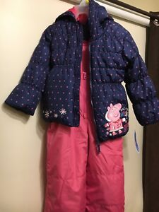 [Brand new with tags] Peppa Pig snow suit 4T