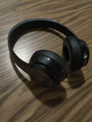 Beats By Dr. Dre Solo3 Wireless Headphones - Black Matte on the ear