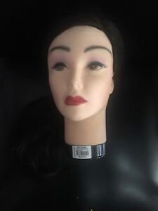 Human hair mannequin 22 inches brand new
