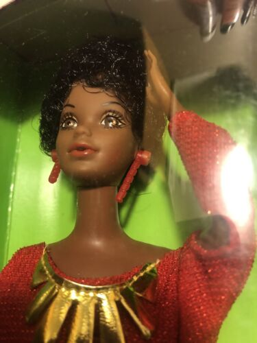 VINTAGE 1979 1st Black Barbie Doll Disco Red Dress Mattel 1293 Gorgeous Doll - $59.99